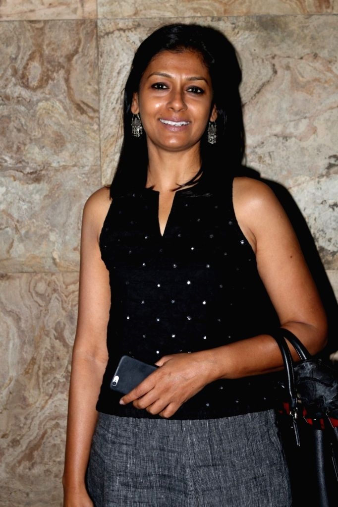 Actress Nandita Das during the special screening of short film Chutney in Mumbai, on Nov 28, 2016. - Nandita Das