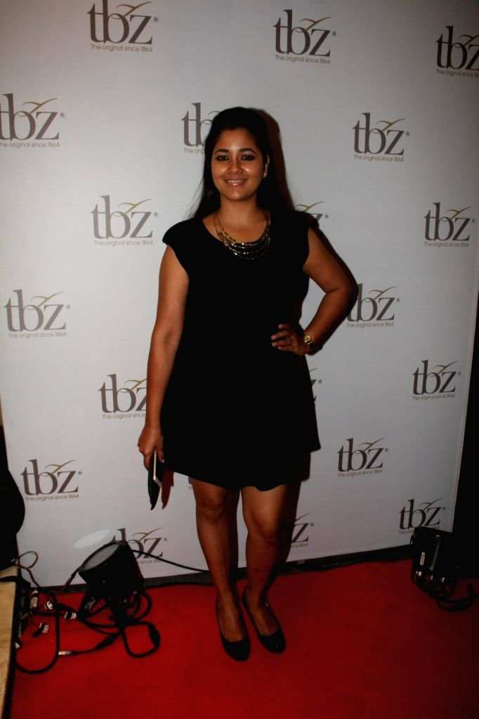 Actress Narayani Shastri during the launch of Tribhovandas Bhimji Zaveri- TBZ, new Jewellery store in Mumbai on Oct 21, 2015. - Narayani Shastri