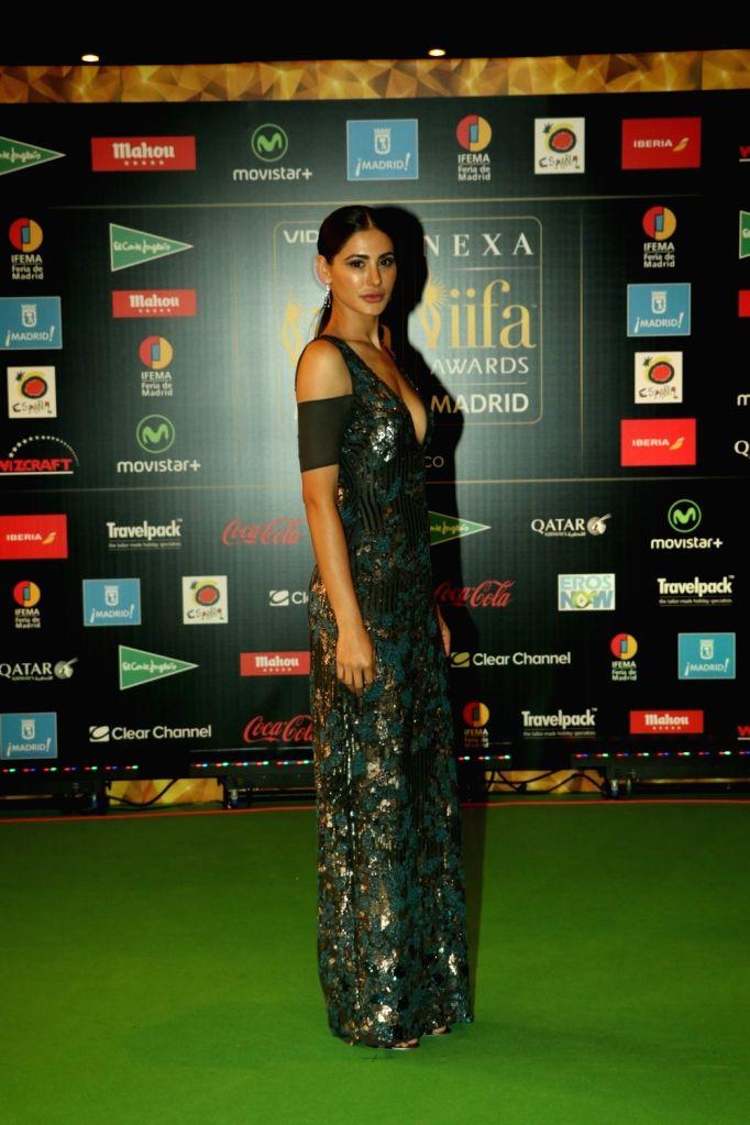 Actress Nargis Fakhri  during IIFA Awards in Madrid on June 26, 2016. - Nargis Fakhri