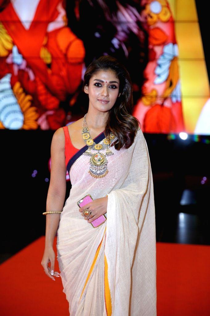 Actress Nayanthara on the second day of SIIMA Awards 2016. - Nayanthara