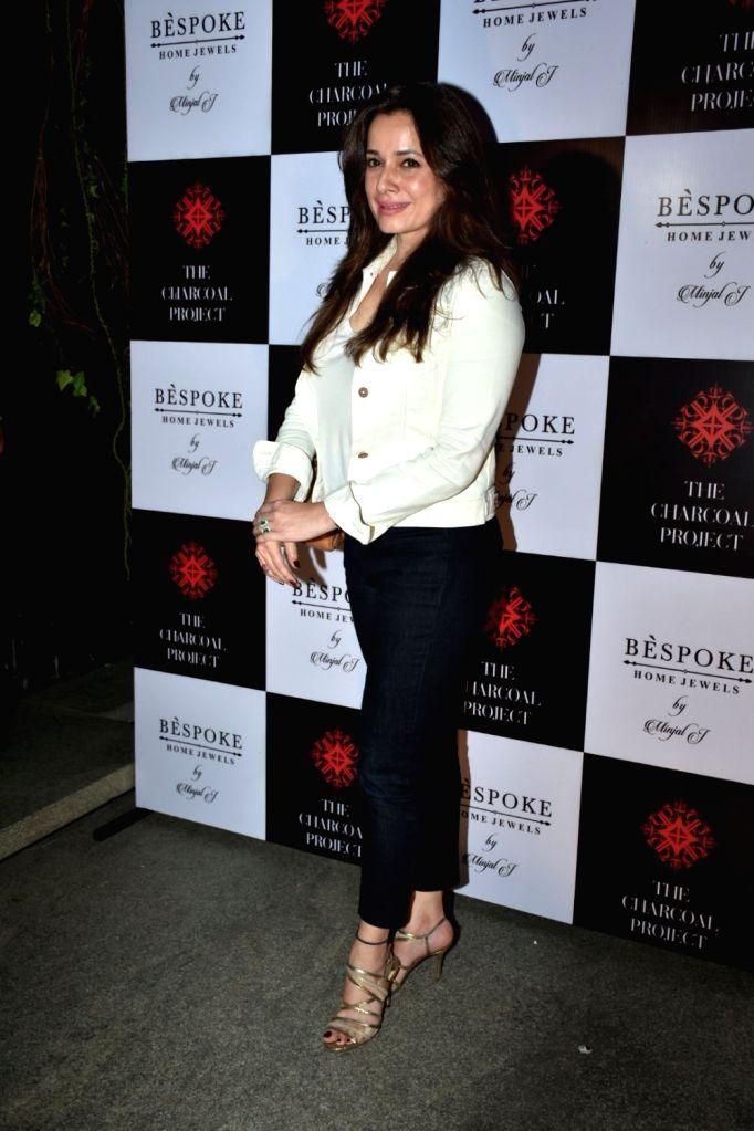 Actress Neelam Kothari at a store launch in Mumbai on April 13, 2018 . - Neelam Kothari