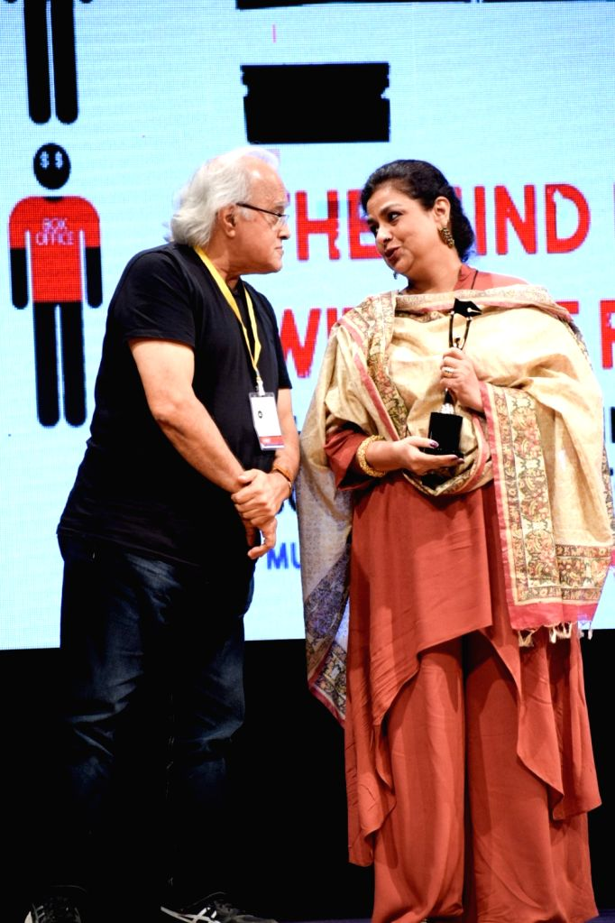 Actress Neelima Azeem at the 5th edition of Indian Screenwriters Conference in Mumbai on Aug 3, 2018. - Neelima Azeem