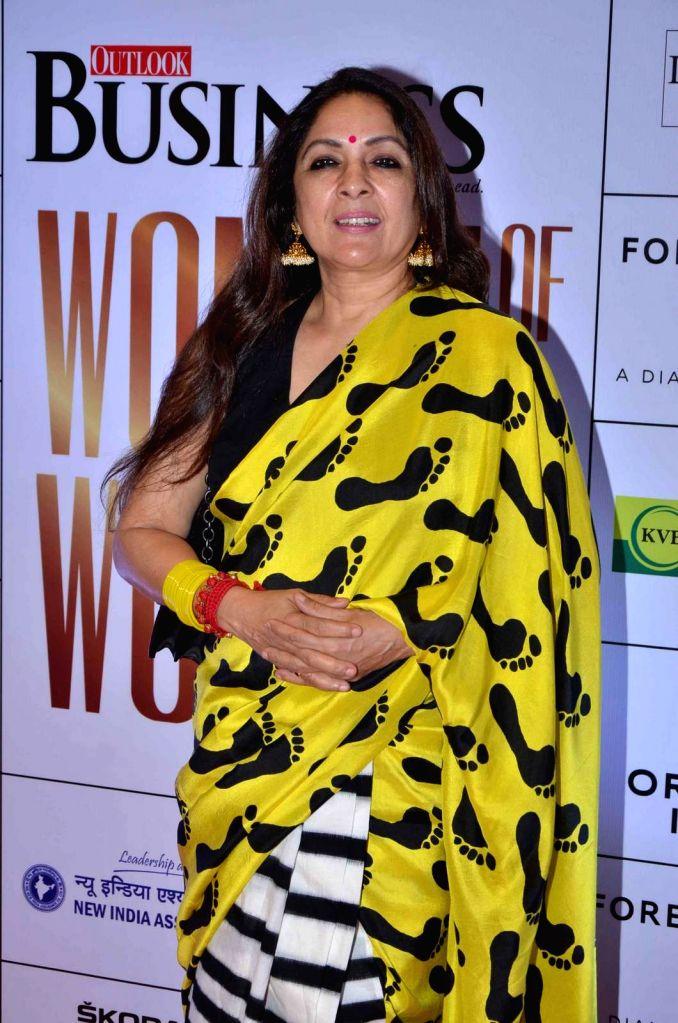 Actress Neena Gupta during the Business Women Entrepreneurs- The Super Achievers in Mumbai on Oct 21, 2015. - Neena Gupta