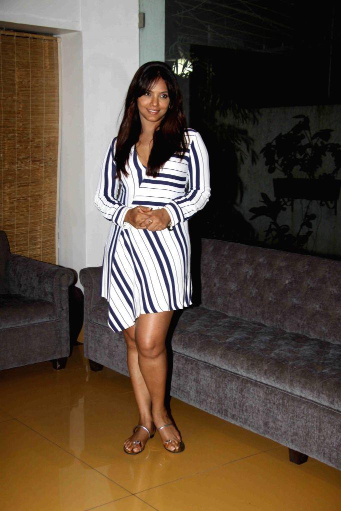 Actress Neetu Chandra during the screening of film Once Upon A Time in Mumbai on Oct 26, 2015. - Neetu Chandra