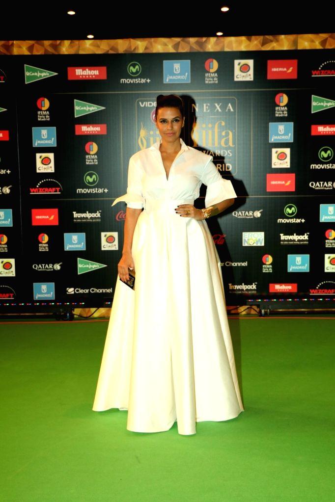 Actress  Neha Dhupia during IIFA Awards in Madrid on June 26, 2016. - Neha Dhupia