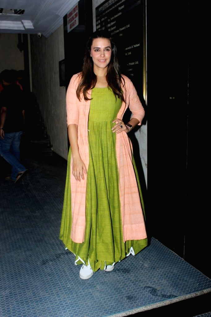 Actress Neha Dhupia during the recording of NoFilter Neha Season 2 in Mumbai, on June 23, 2017. - Neha Dhupia