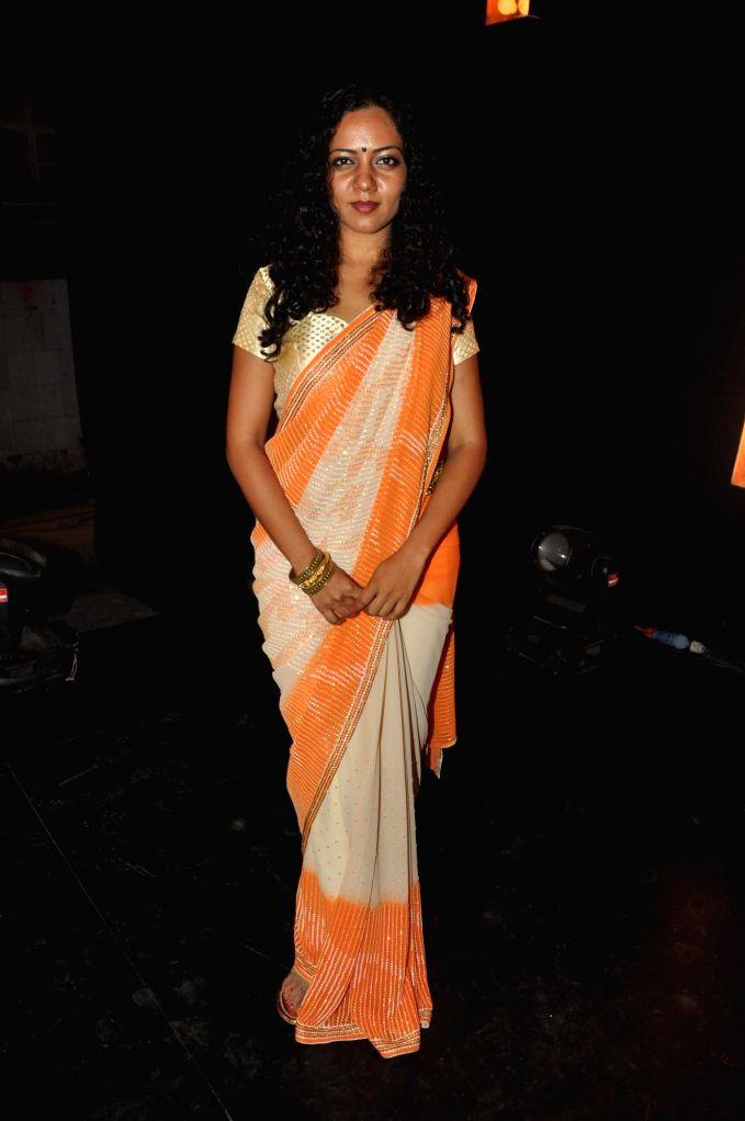 Actress Neha Joshi during the promotional song shoot of upcoming Marathi film Poshter Boyz  in Mumbai on May 6, 2014. - Neha Joshi