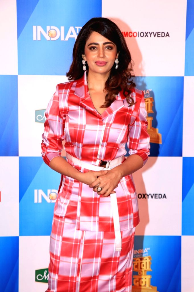 Actress Neha Pendse at India Today Conclave in Mumbai, on Feb 2, 2019. - Neha Pendse