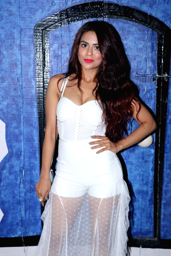 """Actress Nia Sharma at the launch of the new season of reality television comedy show """"Comedy Circus"""", in Mumbai on Sept 15, 2018. - Nia Sharma"""