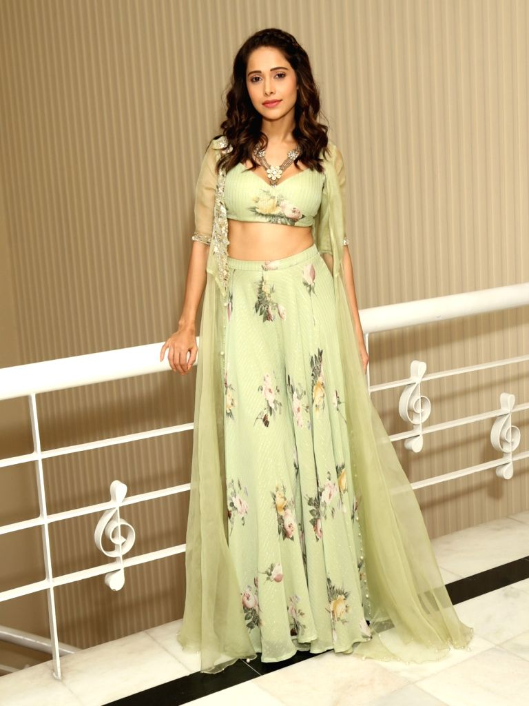 "Actress Nushrat Barucha during promotions of  movie ""Dream Girl""  in New Delhi, Sep 2, 2019. - Nushrat Barucha"
