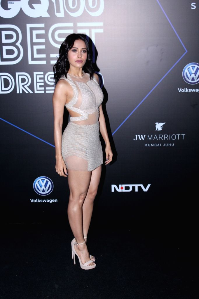 "Actress Nushrat Bharuch at ""GQ 100 Best Dressed Awards 2019"", in Mumbai, on June 1, 2019. - Nushrat Bharuch"