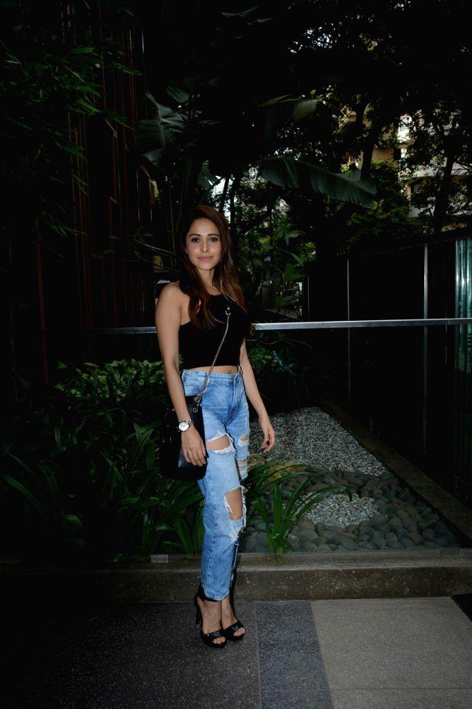 Actress Nushrat Bharucha seen at Mumbai's Bandra on July 25, 2018. - Nushrat Bharucha