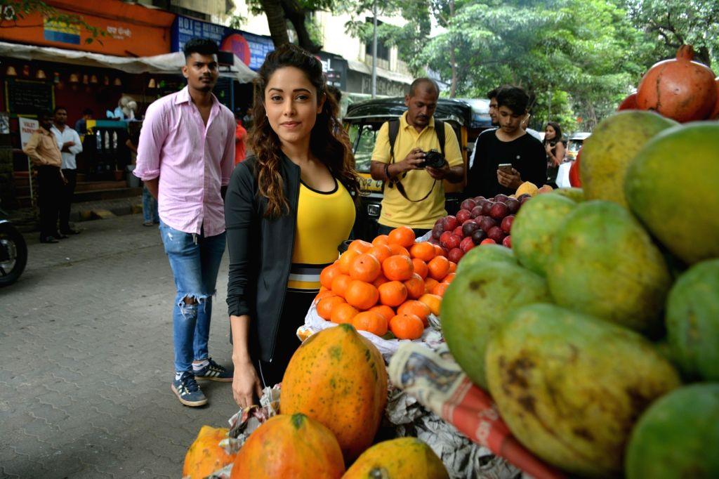 Actress Nushrat Bharucha seen in Mumbai's Bandra on July 30, 2018. - Nushrat Bharucha