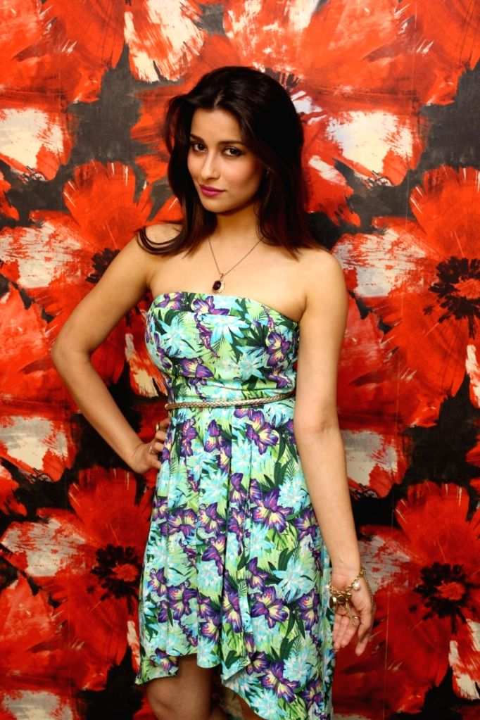 "Actress Nyra Banerjee during a press conference regarding he upcoming film ""One Night Stand"" in Mumbai, on May 12, 2016. - Nyra Banerjee"