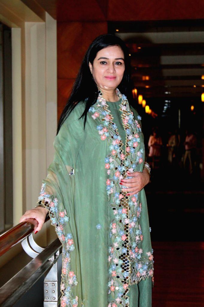 Actress Padmini Kolhapure during a programme in Mumbai on Aug 2, 2019. - Padmini Kolhapure