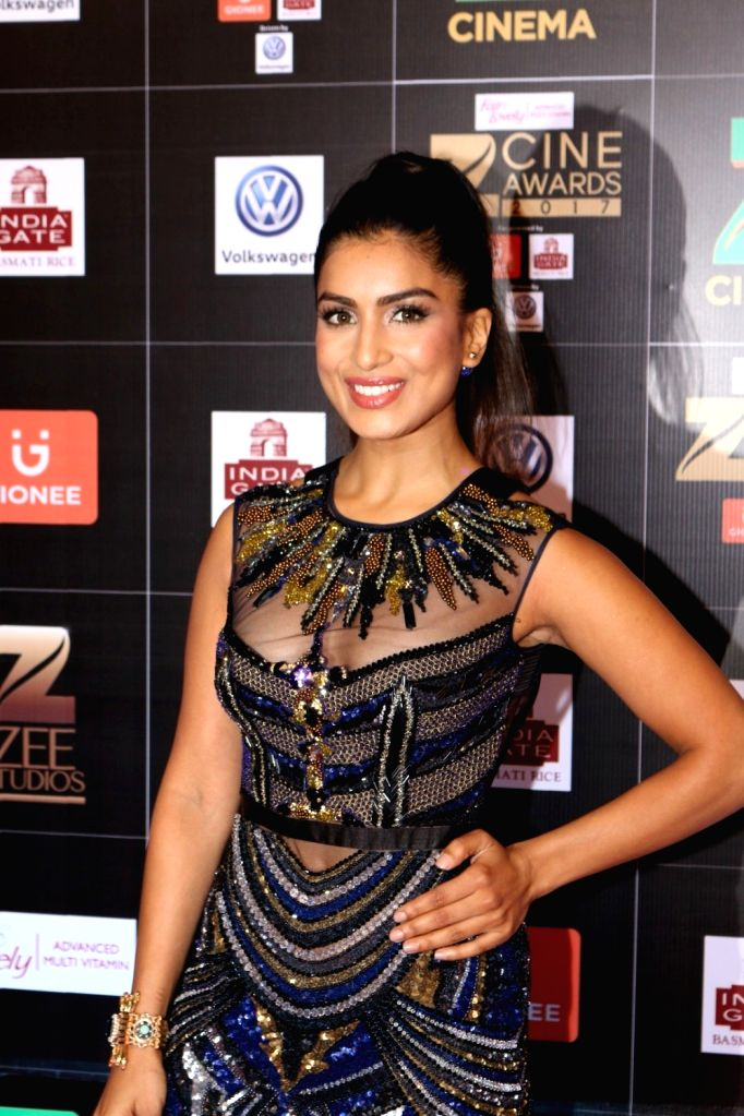 Actress Pallavi Sharda during the Fair & Lovely Zee Cine Awards 2017 in Mumbai on March 11, 2017. - Pallavi Sharda