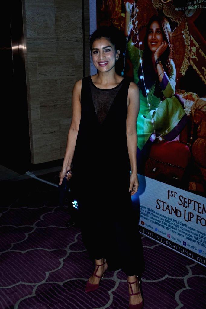 "Actress Pallavi Sharma during the success party of film ""Shubh Mangal Savdhan"" in Mumbai on Sept 12, 2017. - Pallavi Sharma"