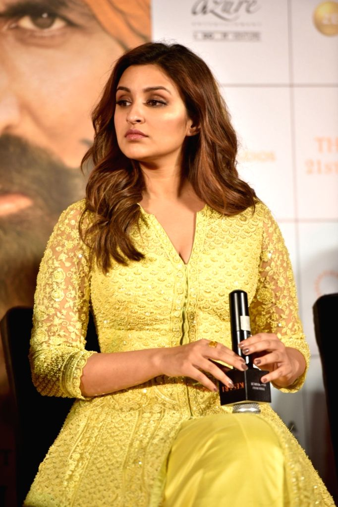 "Actress Parineeti Chopra at a press conference of her upcoming film ""Kesari"" in Mumbai, on March 15, 2019. - Parineeti Chopra"
