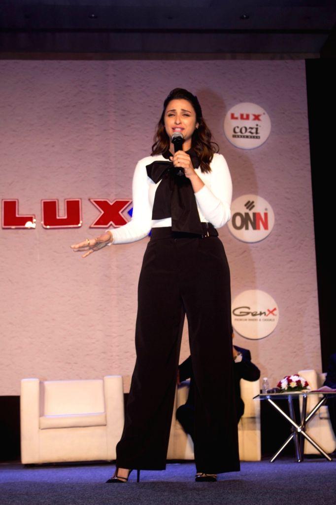 Actress Parineeti Chopra during a program in Mumbai on Jan 25, 2018. - Parineeti Chopra