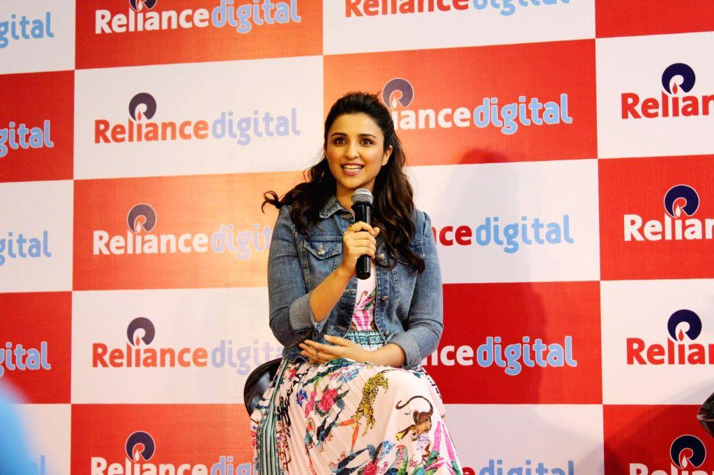 Actress Parineeti Chopra during a programme in Mumbai on June 30, 2017. - Parineeti Chopra