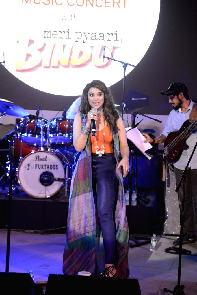 Actress Parineeti Chopra during film Meri Pyaari Bindu concert in Mumbai on May 6, 2017. - Parineeti Chopra