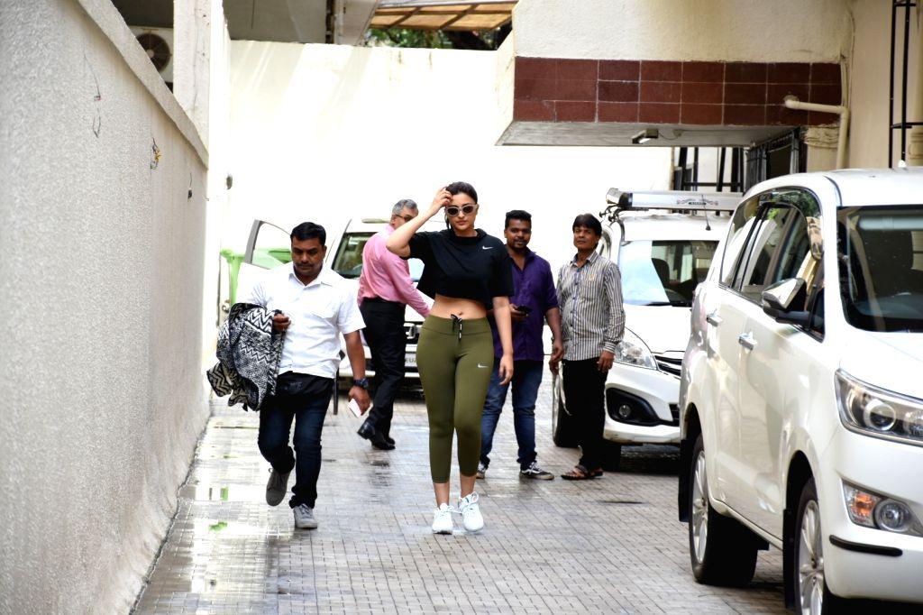 Actress Parineeti Chopra seen at Khar in Mumbai on Sep 30, 2019. - Parineeti Chopra