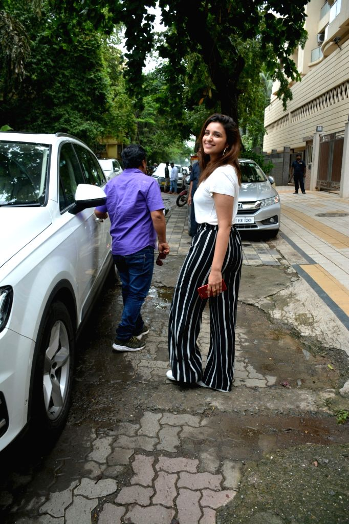 Actress Parineeti Chopra seen at Mumbai's Bandra on July 5, 2018. - Parineeti Chopra