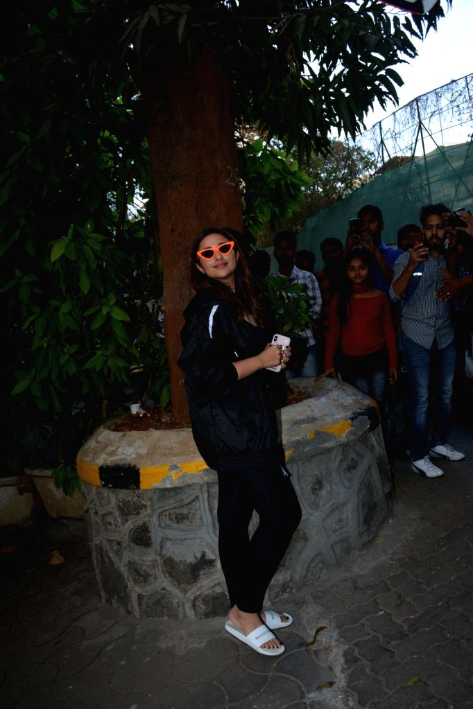 Actress Parineeti Chopra seen in Mumbai's Bandra, on March 7, 2019. - Parineeti Chopra