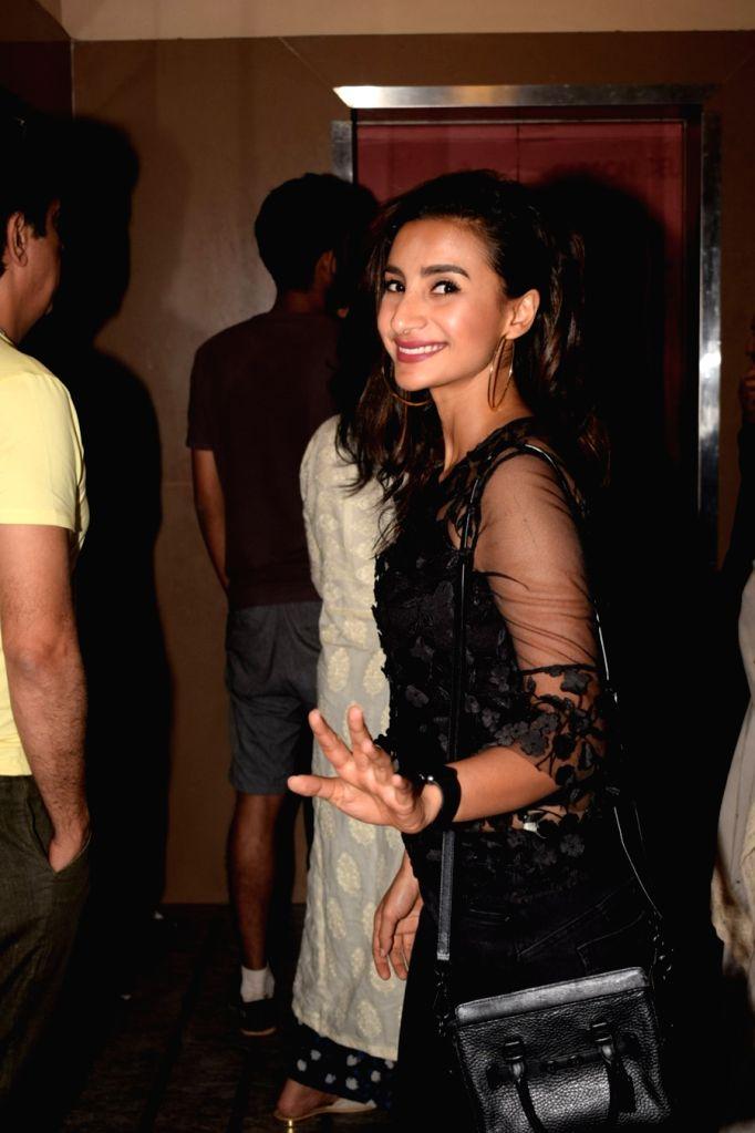 "Actress Patralekha at the special screening of film ""Padmaavat"" in Mumbai on Jan 24, 2018. - Patralekha"
