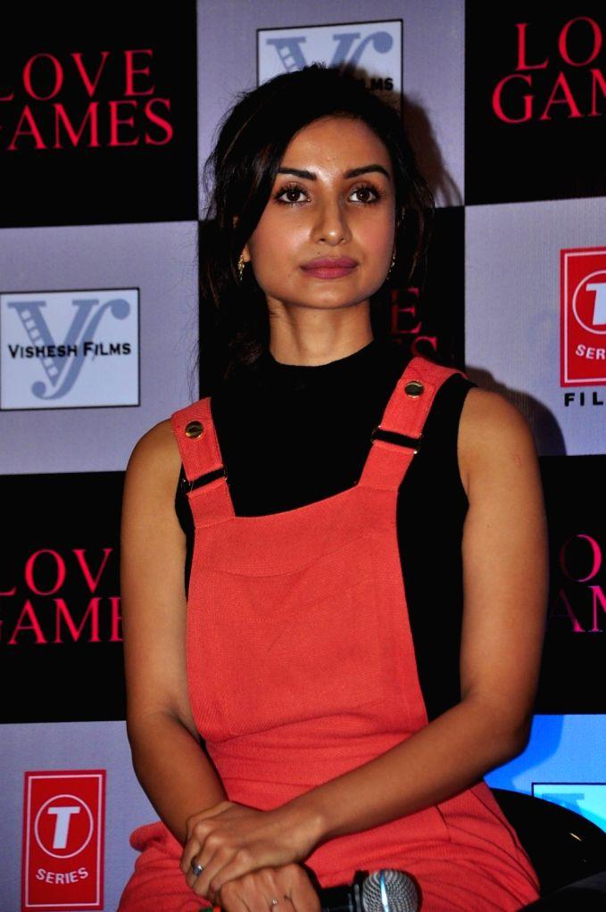 Actress Patralekha during a press conference of film Love Games, in Mumbai, in Mumbai, on March 29, 2016. - Patralekha