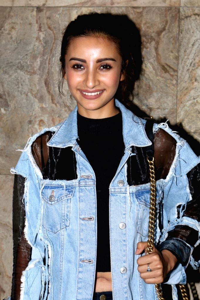 Actress Patralekha during the special screening of short film Chutney in Mumbai, on Nov 28, 2016. - Patralekha