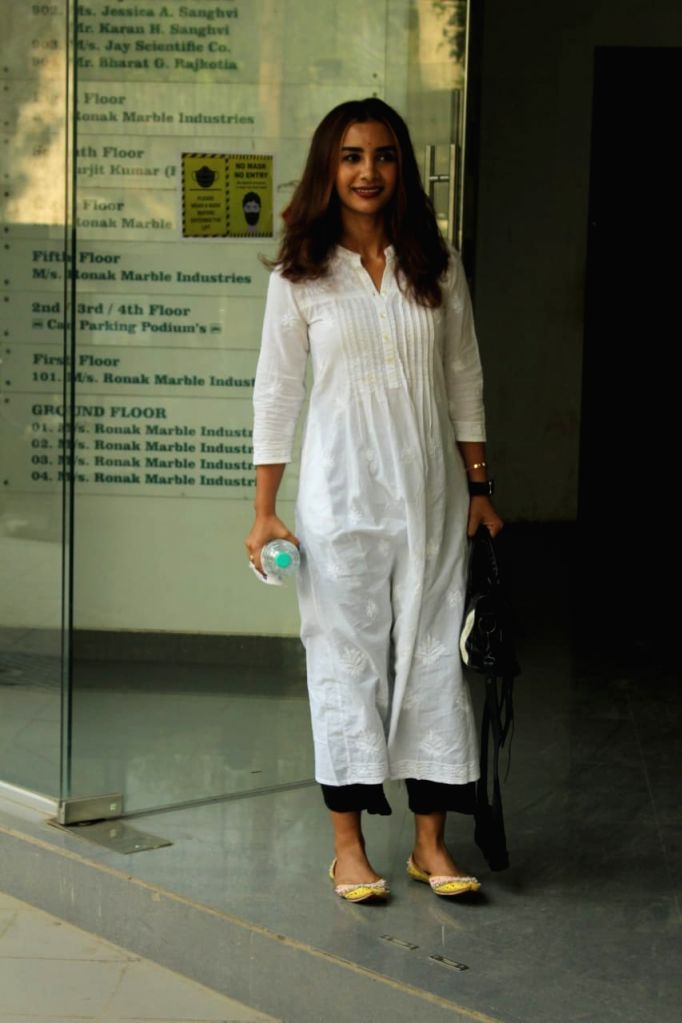 Actress Patralekha seen at Andheri in Mumbai on Dec 4, 2020. - Patralekha