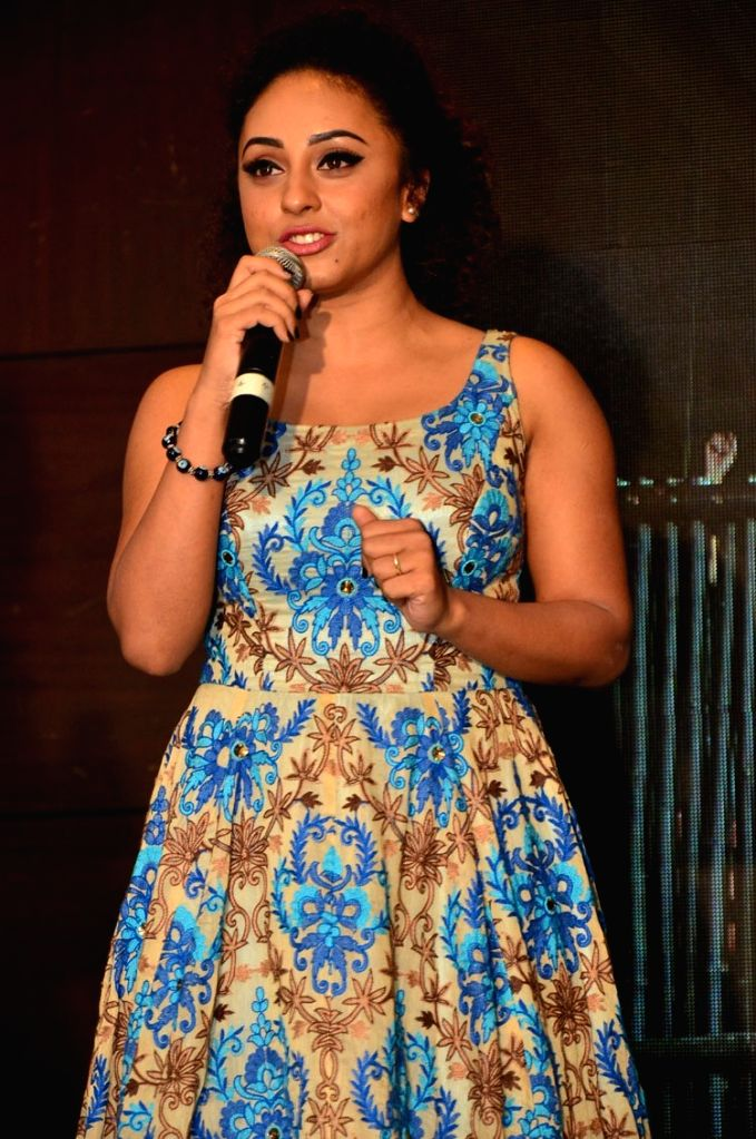 """Actress Pearly Maaney during the trailer launch of their upcoming Malayalam film """"Team 5"""". - Pearly Maaney"""