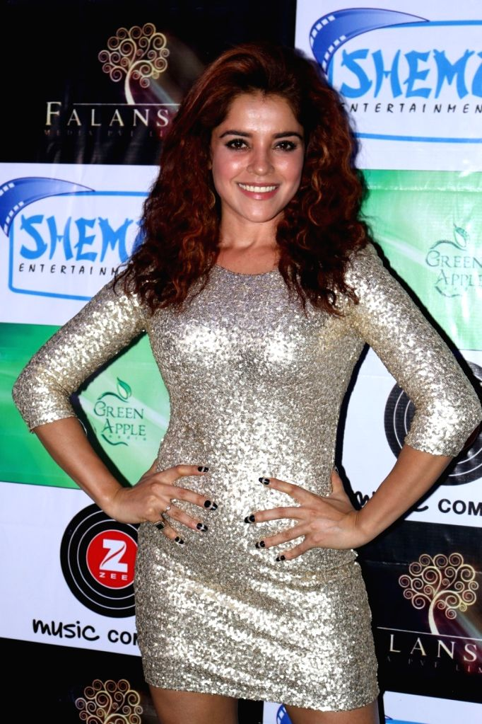 Actress Pia Bajpai during the music launch of film Mirza Juuliet  on March 14, 2017. - Pia Bajpai
