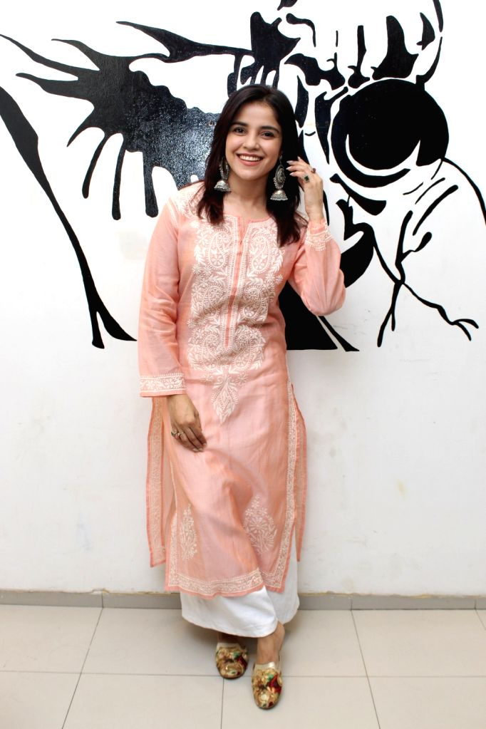 Actress Pia Bajpiee during a photoshoot in Mumbai on May 22, 2018. - Pia Bajpiee