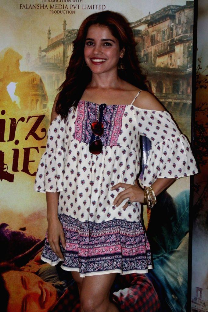 "Actress Piaa Bajpai during the promotional interview of film ""Mirza Juuliet"" in Mumbai on March 25, 2017. - Piaa Bajpai"