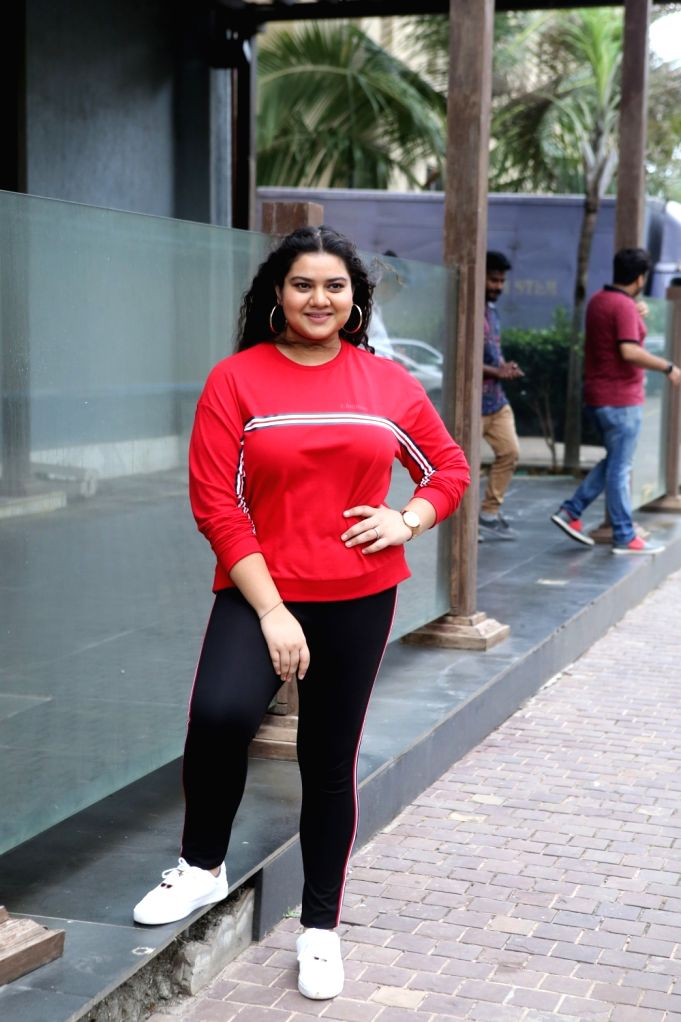"""Actress Pihu Sand during a media interaction to promote her upcoming film """"Fanney Khan"""" in Mumbai on July 30, 2018. - Pihu Sand and Fanney Khan"""