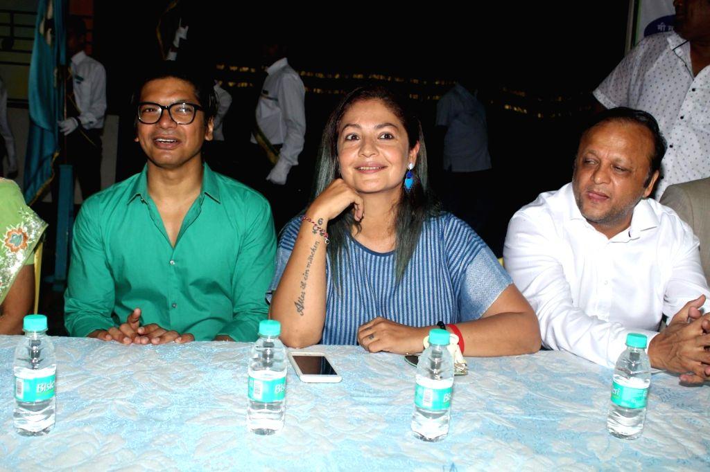Actress Pooja Bhatt and Shaan during a programme in Mumbai, on July 7, 2017. - Pooja Bhatt