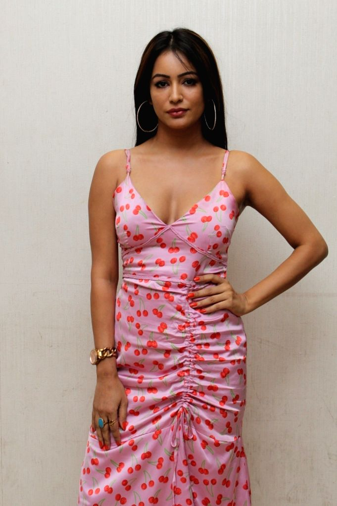 """Actress Pooja Bisht at the song launch of her upcoming film """"Mushkil: Fear Behind You"""" in Mumbai on July 18, 2019. - Pooja Bisht"""