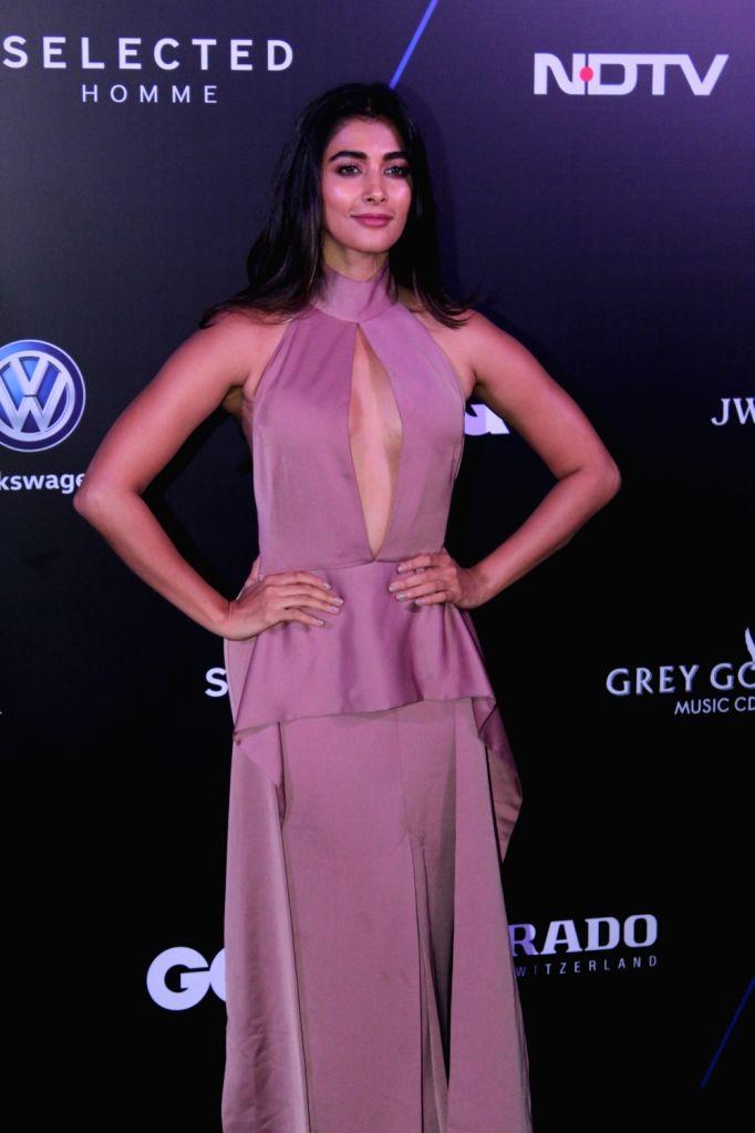 "Actress Pooja Hegde at ""GQ 100 Best Dressed Awards 2019"", in Mumbai, on June 1, 2019. - Pooja Hegde"