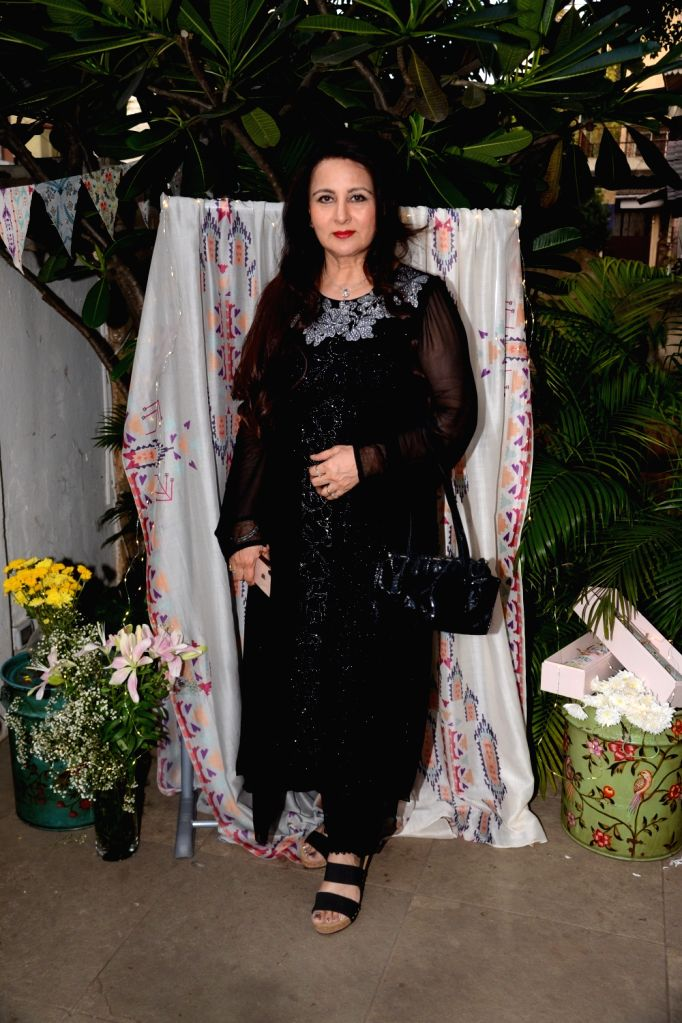 Actress Poonam Dhillon at fashion designer Payal Singhal's store launch in Mumbai, on May 10, 2019. - Poonam Dhillon