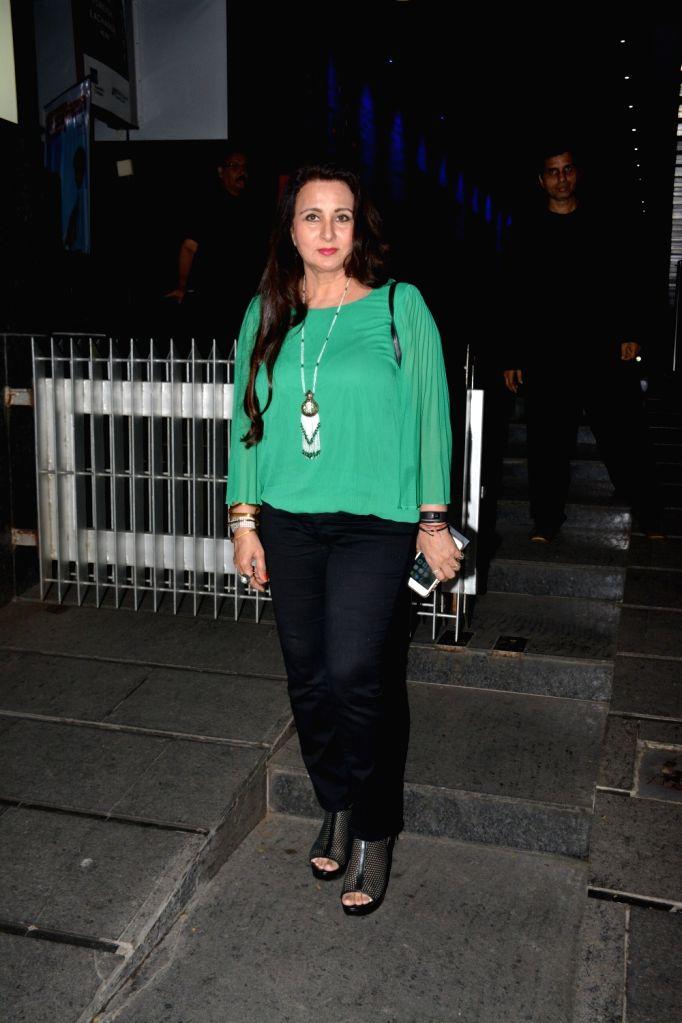 Actress Poonam Dhillon at the actress Padmini Kolhapure's birthday party in Mumbai on Nov. 1, 2018. - Poonam Dhillon