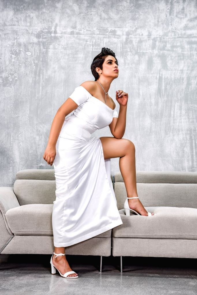 Actress Poorna. - Poorna
