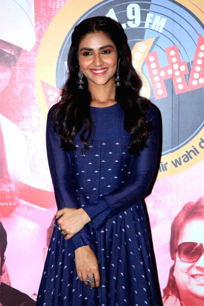 "Actress Pranutan at the promotion of her upcoming film ""Notebook"" in Mumbai, on March 7, 2019. - Pranutan"