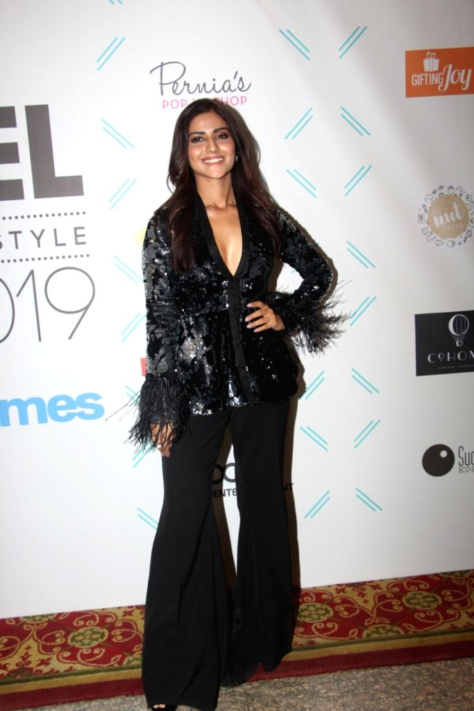 "Actress Pranutan Bahl at ""Tassel Awards 2019"", in Mumbai, on June 1, 2019. - Pranutan Bahl"
