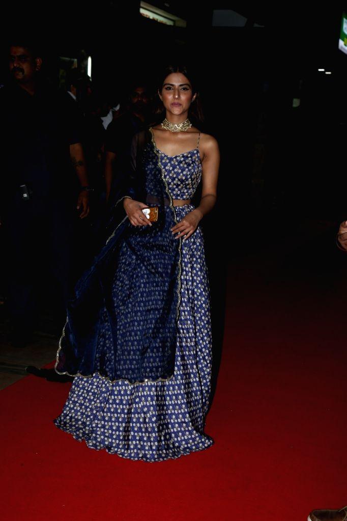 "Actress Pranutan Bahl during a special event organised to celebrate 25 years of the film ""Hum Aapke Hain Koun"", in Mumbai on Aug 9, 2019. - Pranutan Bahl"