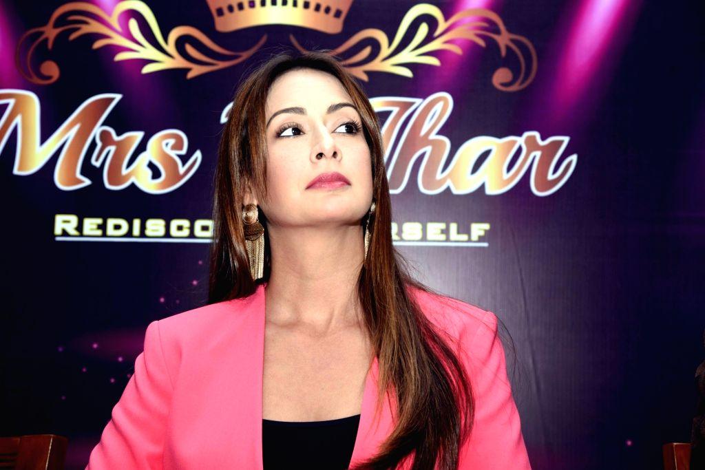 Actress Preeti Jhangiani during a programme in Patna on March 2, 2019. - Preeti Jhangiani