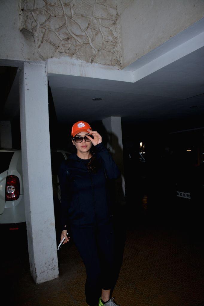 Actress Preity Zinta spotted at bandra in Mumbai on Feb 4, 2019. - Preity Zinta