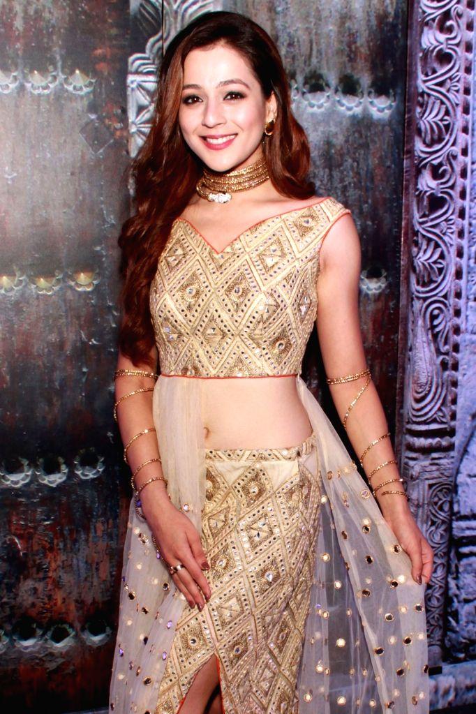 "Actress Priyal Gor during the launch of her upcoming TV show ""Ichhapyaari Naagin"" in New Delhi on Sept 23, 2016. - Priyal Gor"