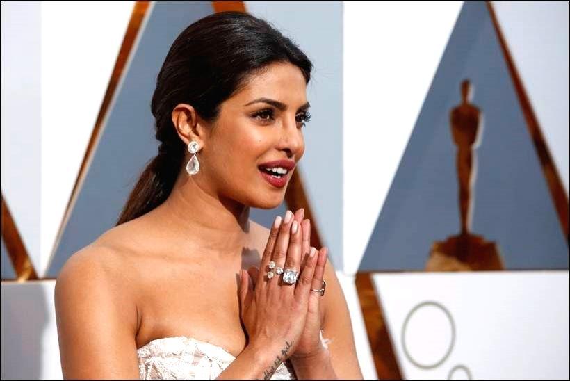 Actress Priyanka Chopra
